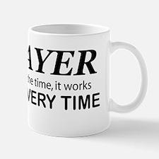 10x3_stickerBumper_Prayer0percent Mug