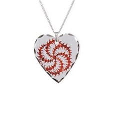 01_circle_Swirl_02 Necklace Heart Charm