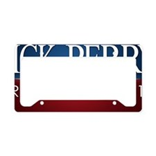 yard-sign_rick_perry_trad License Plate Holder