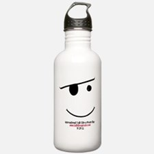 smiley logo Water Bottle