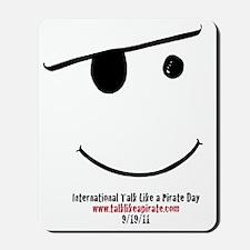 smiley logo Mousepad