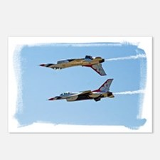 (16) Thunderbirds 5 and 6 Postcards (Package of 8)