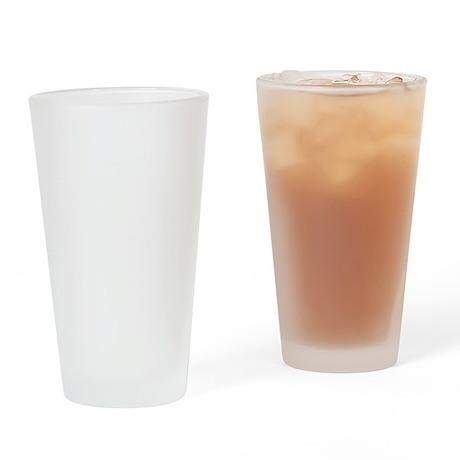 chompy_white Drinking Glass