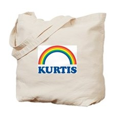 KURTIS (rainbow) Tote Bag
