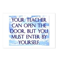 YOUR TEACHER CAN OPEN THE DOOR Postcards (Package