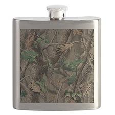 camo-swatch-hardwoods-green Flask