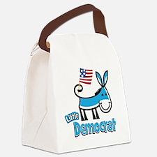 DoonkeyDoodleLitDem2 Canvas Lunch Bag