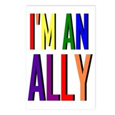 Im an Ally Postcards (Package of 8)