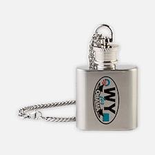 WY-4--O-KC Flask Necklace
