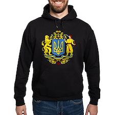 escudo_nacional_de_ucrania_10x10 Hoodie