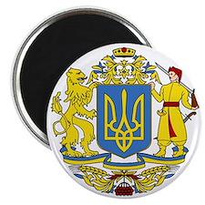 escudo_nacional_de_ucrania_10x10 Magnet
