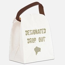 Designated drop out Canvas Lunch Bag