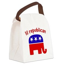Lil Republican Canvas Lunch Bag