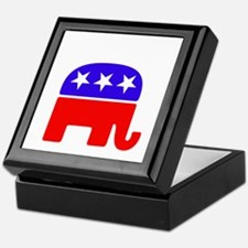 Lil Republican -dk Keepsake Box