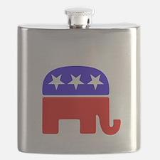 Lil Republican -dk Flask