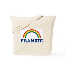 FRANKIE (rainbow) Tote Bag