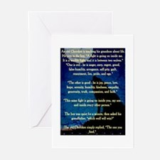 CHEROKEE LESSON Greeting Cards (Pk of 10)