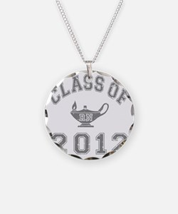 CO2012 RN Gray Distressed Necklace
