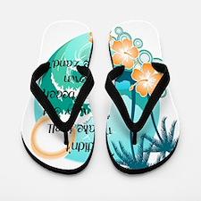 the beach Flip Flops