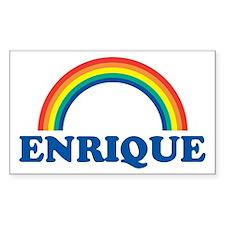 ENRIQUE (rainbow) Rectangle Bumper Stickers