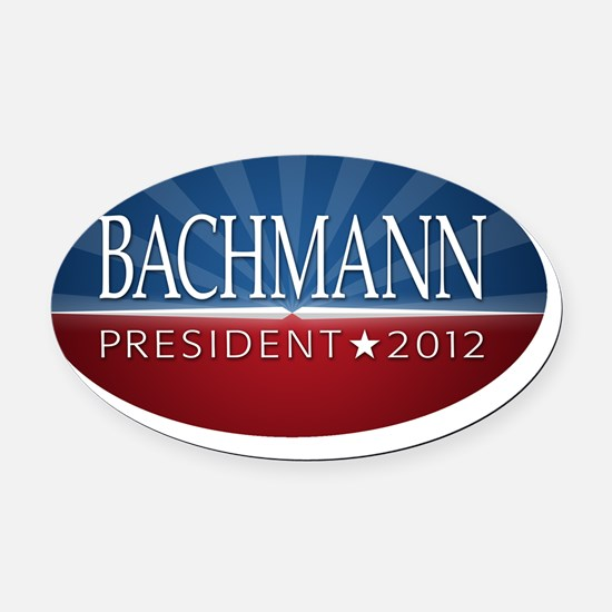 5x3oval_bachmann_04 Oval Car Magnet
