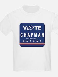 Vote Chapman Kids T-Shirt