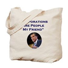 Romney Corporations Tote Bag