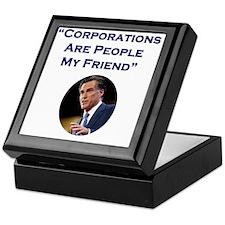 Romney Corporations Keepsake Box