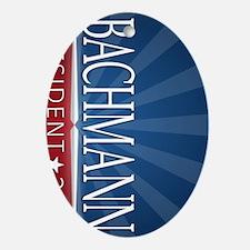 keychain_alum_bachmann_02 Oval Ornament