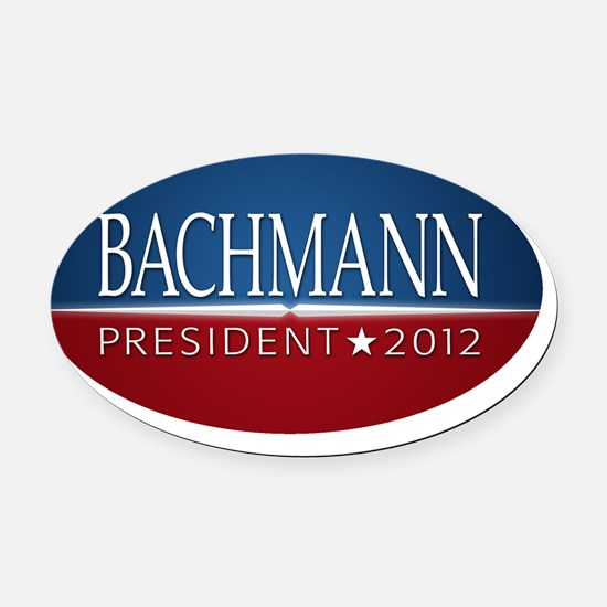 5x3oval_bachmann_03 Oval Car Magnet