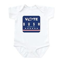 Vote Bush Infant Bodysuit