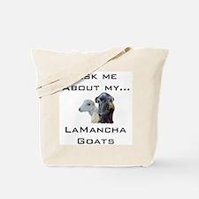 Goat Ask LaMancha Tote Bag