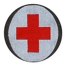 MEDIC Round Car Magnet