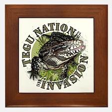 Tegu Nation Invasion Framed Tile