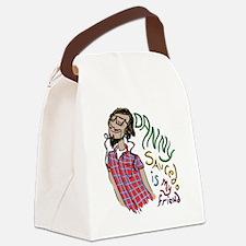 Wraith friend Canvas Lunch Bag