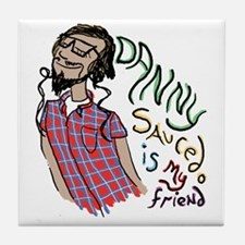 Wraith friend Tile Coaster
