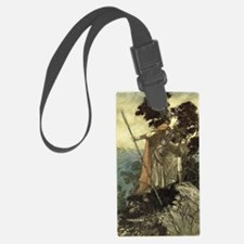 Brunhilde the Valkyrie Luggage Tag