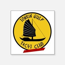 "Tonkin Gulf Yacht Club 3 Square Sticker 3"" x 3"""