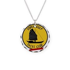 Tonkin Gulf Yacht Club 3 Necklace Circle Charm