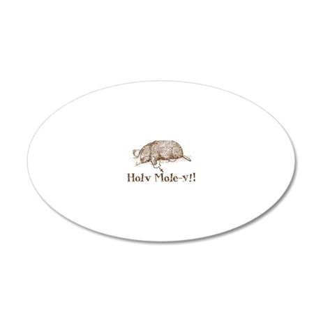holymoleyNEW2 20x12 Oval Wall Decal