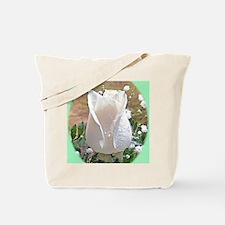 White Rose Gift iPad Hard Cases Tote Bag