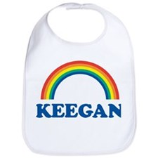 KEEGAN (rainbow) Bib