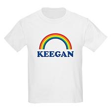 KEEGAN (rainbow) Kids T-Shirt