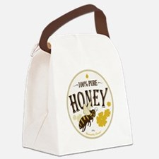 honey label 3 Canvas Lunch Bag