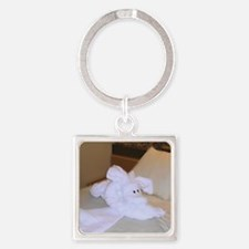 Mystery Animal-WC-M Square Keychain