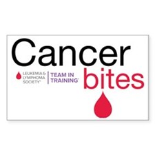 cancer bites Decal