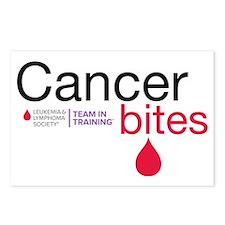 cancer bites Postcards (Package of 8)