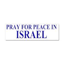 peaceIsrael Car Magnet 10 x 3
