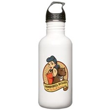 Large Pinup and dog lo Water Bottle