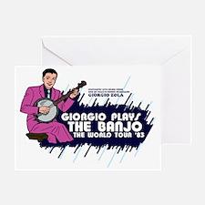banjo01 Greeting Card